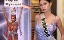 Đại diện Myanmar có hành động bất ngờ tại Miss Universe