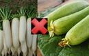 2 loại thực phẩm chớ dại kết hợp cùng mướp kẻo hối không kịp