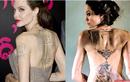 Ý nghĩa của gần 20 hình xăm trên cơ thể Angelina Jolie