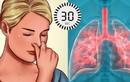 Cách đơn giản tự kiểm tra chức năng phổi ngay tại nhà, không cần thiết bị