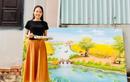 Cô gái bỏ phố về quê trong dịch, dạy vẽ miễn phí cho trẻ em
