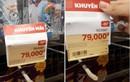 Mánh khóe giảm giá của siêu thị khiến khách hàng giận tím mặt