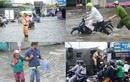 Ấm lòng những hình ảnh trong cơn mưa bão ở TP.HCM