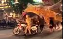 """Video: Rước đèn trung thu náo loạn phố và màn """"úp đèn"""" CSGT"""
