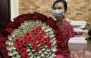 Choáng ngợp với bó hoa bằng tiền mặt trị giá 200 triệu đồng ngày 20/10