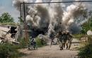 """Lính Ukraine lại chết thảm với khẩu súng cối """"cây nhà lá vườn"""""""