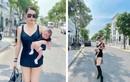 """Choáng cách Quế Vân lấy lại body """"bốc lửa"""" sau 1 tháng sinh con"""