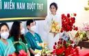 Đám cưới qua điện thoại của điều dưỡng Hà Nội tại BV dã chiến TPHCM