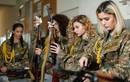 """Nữ quân nhân Armenia với sắc đẹp khiến đối phương """"buông súng quy hàng"""""""