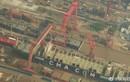 Cận cảnh tàu sân bay thứ ba của Trung Quốc đã thành hình