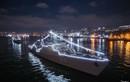 Tàu hộ vệ Việt Nam đẹp lung linh trong lễ duyệt binh tại Vladivostok