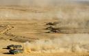 Nga bất ngờ điều 30 'siêu tăng' T-72B3M áp sát biên giới Afghanistan
