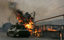 Ukraine thiệt hại nặng ở miền Đông, pháo binh Donetsk quá mạnh!