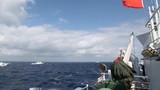 Biển Đông: Tàu cá TQ đi trước, tàu chiến theo sau