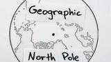 Trái đất có 3 cực Bắc