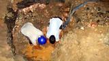 Vỡ ống nước sạch, hàng trăm hộ dân bị cắt nước