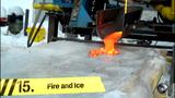 Điều gì xảy ra khi dung nham chảy trên băng?