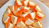 Hướng dẫn cách làm thạch cam hai màu độc lạ