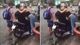 Bà Tưng gây sốc khi cưỡng hôn nhiều trai lạ trên phố