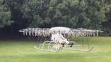 Máy bay tự chế có nhiều cánh quạt nhất thế giới