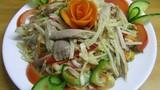 Cách làm gỏi gà bắp cải ngon ăn không ngán