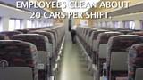 Xem công nhân dọn tàu cao tốc nhanh như máy