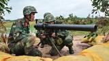 Mục kích chiến sĩ Trung đoàn 429 dùng DKZ tập bắn đạn thật