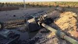 """Pháo tự hành T-155 Thổ Nhĩ Kỳ bị thổi """"bay đầu"""" ở chiến trường Syria"""
