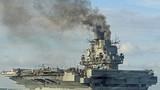 Nga bị Trung Quốc chế giễu vì để cháy tàu sân bay duy nhất