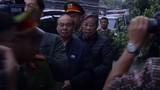 Hình ảnh áp giải ông Nguyễn Bắc Son, Trương Minh Tuấn và đồng phạm đến tòa
