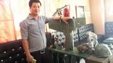 Bộ sưu tập kỷ vật chiến tranh hàng hiếm của 8X Hà Thành