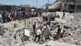 Hiện trường vụ đánh bom kép tại Syria, 200 người thương vong