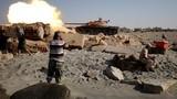 Chùm ảnh  cuộc chiến chống phiến quân IS trên bờ biển Libya