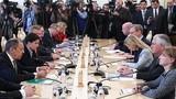 Ảnh: Giữa căng thẳng, Ngoại trưởng Nga-Mỹ hội đàm ở Moscow