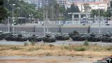 Ảnh: Thổ Nhĩ Kỳ tập trung binh lực sát biên giới với Syria