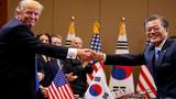 Loạt ảnh ấn tượng chuyến thăm Hàn Quốc của Tổng thống Trump