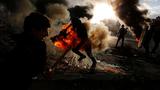 """Những khoảnh khắc kinh hoàng tại """"thùng thuốc nổ"""" Trung Đông"""