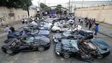 Tiếc hùi hụi dàn siêu xe bị Tổng thống Philippines phá nát