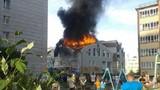 Cháy trung tâm mua sắm ở Nga, hàng chục người thương vong