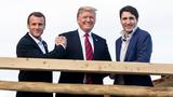 Tổng thống Trump bất ngờ đăng ảnh thân thiết với lãnh đạo G7