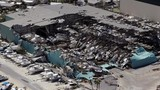 Sức tàn phá khủng khiếp của siêu bão Michael nhìn từ trên cao
