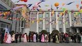 Toàn cảnh người dân Triều Tiên đi bỏ phiếu bầu Quốc hội