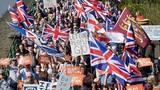 Biển người tuần hành ủng hộ Brexit đổ về thủ đô London