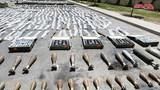 """Bất ngờ nguồn gốc kho vũ khí """"khủng"""" bị tịch thu ở Homs"""