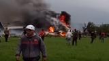 Video: Rơi máy bay quân sự, hàng trăm người chết ở Algeria