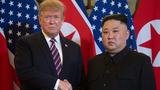 Tổng thống Trump muốn gặp ông Kim tại khu phi quân sự liên Triều
