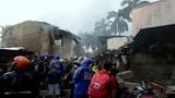 Máy bay rơi xuống khu resort ở Philippines, không ai sống sót