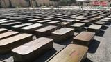 """Cận cảnh kho vũ khí """"khủng"""" Quân đội Syria tịch thu ở Daraa"""