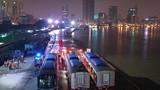 Tàu metro số 1 về đến depot Long Bình