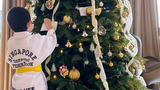 Thư con trai Thu Minh gửi ông già Noel đính kèm hình quà tặng